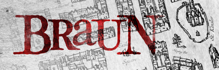 Braun: A Free 16th Century Urban Cartography Brush Set for Fantasy City Maps
