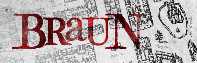 Braun: A Free 16th Century Urban Cartography Brush Set for Fantasy City Maps