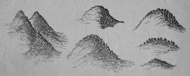 Vischer: A Free 17th Century Cartography Brush Set for Fantasy Maps