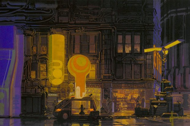 "Syd Mead - ""City Design 02"""