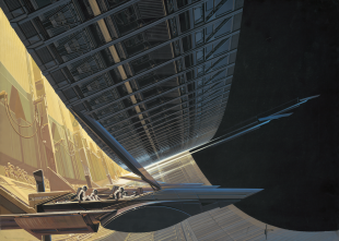 Syd Mead - Ship Design