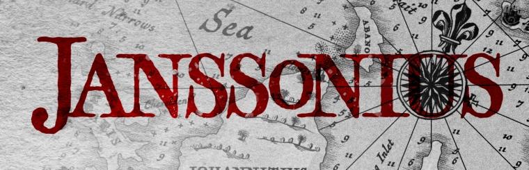 Janssonius: A Free 17th Century Cartography Brush Set for Fantasy Maps