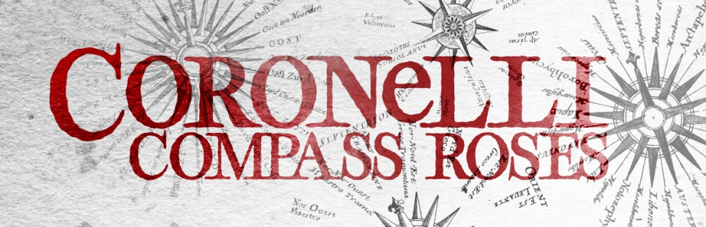 Coronelli: A Free 17th Century Compass Rose Brush Set for Fantasy Maps