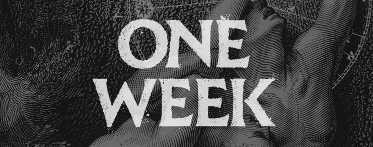 One Week until GLEAM UPON THE WAVES